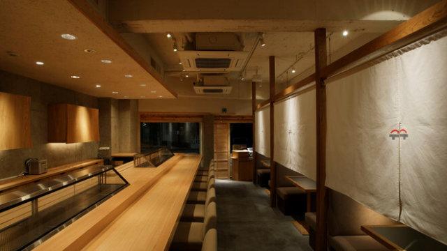 板前寿司コリドー街店の店内写真