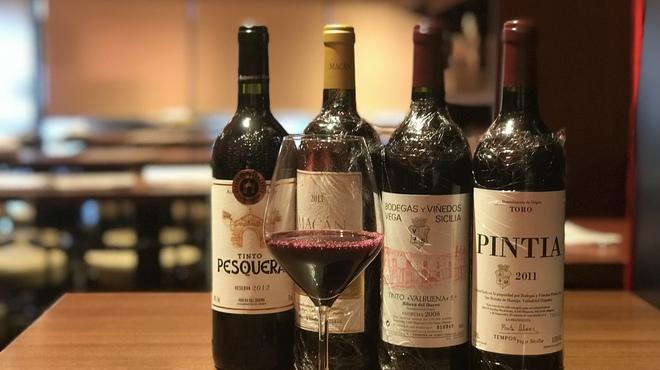 俺のスパニッシュのワイン写真