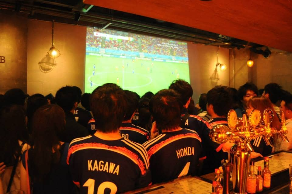 GINZA300BARNEXT.のサッカー、スポーツ観戦