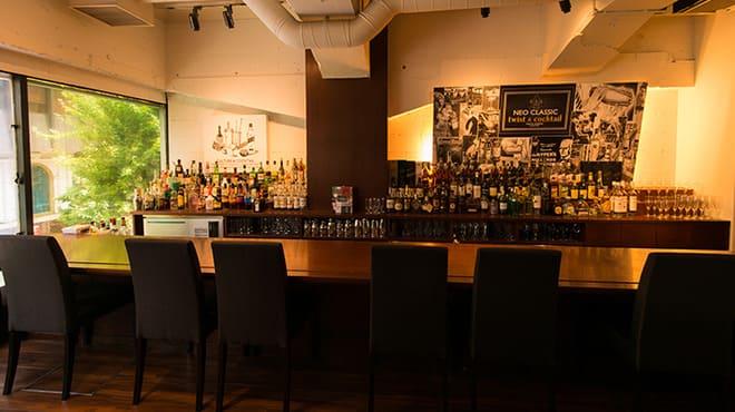日比谷Bar 銀座コリドー店のカウンター写真
