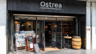 Ostrea(オストレア)銀座コリドー通り店の外観