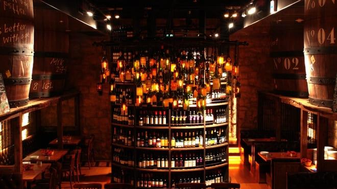 ワインホールグラマー銀座の店内写真