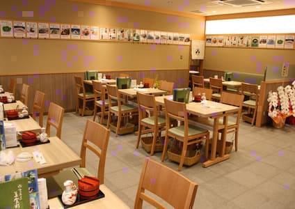梅丘寿司の美登利総本店銀座店のテーブル写真