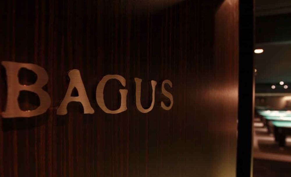BAGUS 銀座店の看板写真