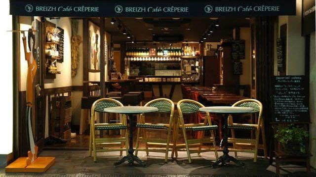 ブレッツカフェクレープリー銀座店の外観写真