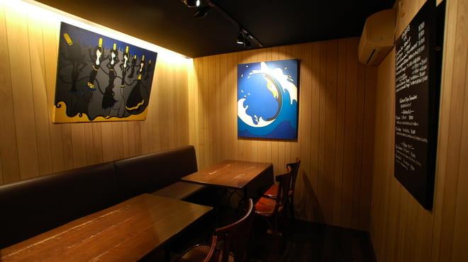 ブレッツカフェクレープリー銀座店の店内写真