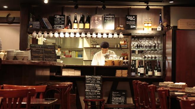 ブレッツカフェクレープリー銀座店の調理風景写真