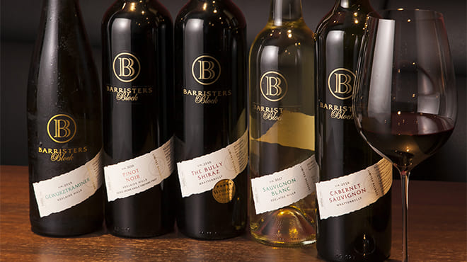 WINE AND BAR Elevageのワインボトル写真