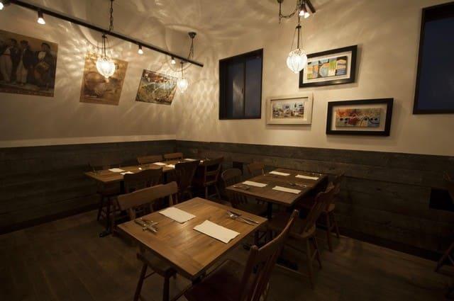 パイス バスコの3Fテーブル写真