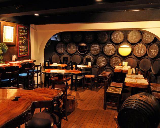 しぇりークラブの2階席写真