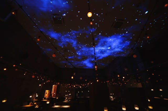 and people ginzaのプラネタリウム写真