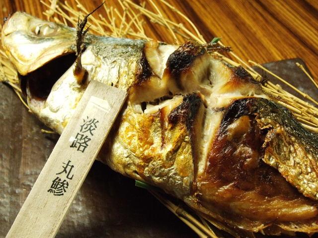 淡路島と喰らえ 銀座コリドー店の焼き魚写真