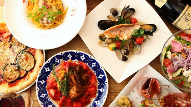 トラットリア&バールバルレッタ銀座7丁目店のコース料理写真