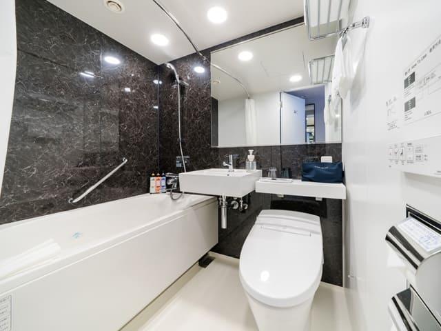 ダイワロイネットホテル新橋のバスルーム写真