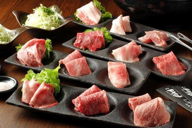 焼肉 炙屋武蔵の肉写真