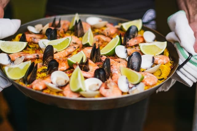 スペイン料理のイメージ画像