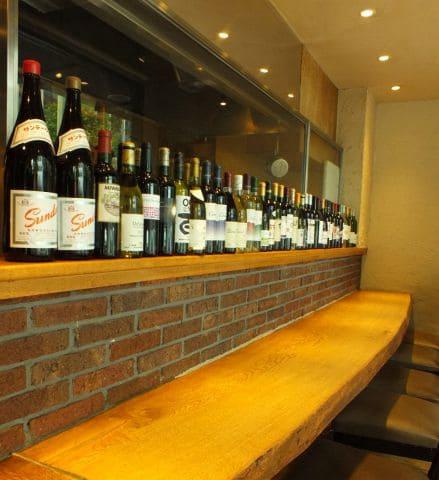 お取り寄せダイニング 十勝屋のワイン写真