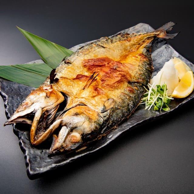 とろさば料理専門店 SABAR 銀座店 の焼きサバ写真