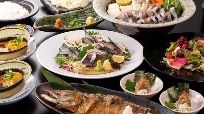 とろさば料理専門店 SABAR 銀座店 のコース料理写真
