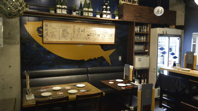 とろさば料理専門店 SABAR 銀座店 のテーブル写真