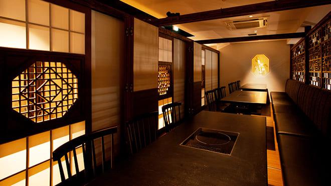 個室×韓国料理 銀座MUNの店内写真