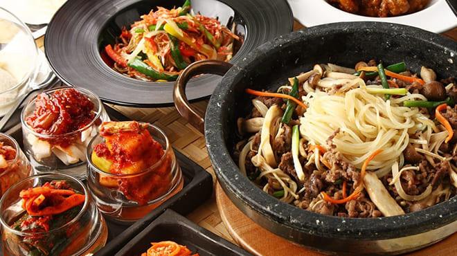 個室×韓国料理 銀座MUNのビビンバ写真
