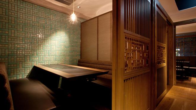 個室×韓国料理 銀座MUNの個室写真