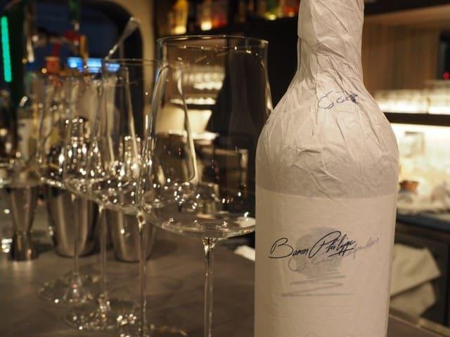 RB BAR2 銀座外堀通りのワインボトル写真
