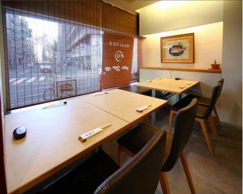 鰻割烹 大和田 銀座コリドー店のテーブル写真